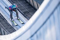 31.12.2017, Olympiaschanze, Garmisch Partenkirchen, GER, FIS Weltcup Ski Sprung, Vierschanzentournee, Garmisch Partenkirchen, Training, im Bild Michael Hayboeck (AUT) // Michael Hayboeck of Austria during his Practice Jump for the Four Hills Tournament of FIS Ski Jumping World Cup at the Olympiaschanze in Garmisch Partenkirchen, Germany on 2017/12/31. EXPA Pictures © 2017, PhotoCredit: EXPA/ Jakob Gruber