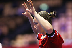 HERNING, DENMARK - DECEMBER 6: Amandine Leynyaud during the EHF Euro 2020 Group A match between Slovenia and France in Jyske Bank Boxen, Herning, Denmark on December 6, 2020. Photo Credit: Allan Jensen/EVENTMEDIA.