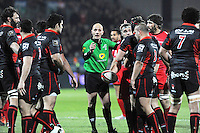 Patrick PECHAMBERT - 14.03.2015 - Lyon OU / Toulon -  20eme journee de Top 14<br /> Photo : Jean Paul Thomas  / Icon Sport<br /> <br />   *** Local Caption ***