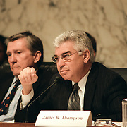 Commission member Richard Ben-Veniste during the 9/11 Commission's Public Hearing Number 8 on Wednesday, 24 March 2004.