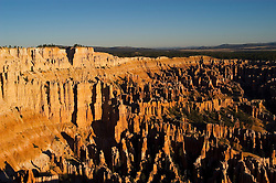 Bryce Canyon National Park, sunrise, Rock formations, hoodoos of Silent City in Ampitheater, erosion, arid, Utah, UT, Southwest America, American Southwest, US, United States, Image ut367-18208, Photo copyright: Lee Foster, www.fostertravel.com, lee@fostertravel.com, 510-549-2202