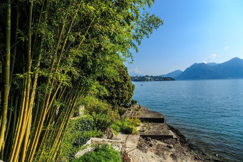 Isola Madre at Lago Di Maggiore, Italy.