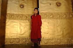 The Punakh Dzong is shown October 11, 2005 in Punakha Bhutan.