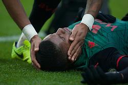 General view as Wesley of Aston Villa is stretchered off injured - Mandatory by-line: Jack Phillips/JMP - 01/01/2020 - FOOTBALL - Turf Moor - Burnley, England - Burnley v Aston Villa - English Premier League