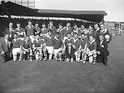 Cork team at the All Ireland Minor Gaelic Football Final Cork v. Mayo in Croke Park on the 24th September 1961.