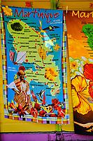 France, Martinique, Sainte-Anne, plage de Pointe Marin, serviette de bain // France, West Indies, Martinique, Sainte-Anne, Pointe Marin beach, bath towel