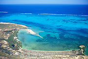 aerial view of Ningaloo Reef, Western Australia ( Indian Ocean )
