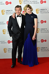 Bradley Walsh and Jodie Whittaker attending the Virgin TV British Academy Television Awards 2018 held at the Royal Festival Hall, Southbank Centre, London.