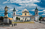 Barokowy kościół parafialny Świętej Trójcy, Tykocin, Polska<br /> Church of the Holy Trinity in Tykocin, Poland