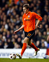 Mykola Ischenko of FC Shakhtar Donetsk Tottenham Hotspur Vs Shakhtar Donetsk at White Hart Lane London England<br /> UEFA Cup Third Round Second Leg.<br /> 26/02/2009. Credit Colorsport  / Kieran Galvin