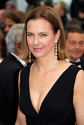 Carole Bouquet at the the premiere of the French film , You Ain't Seen Nothin' Yet  at the Cannes Film Festival on Monday 21st May 2012. Photo by: Stephen Lock / i-Images