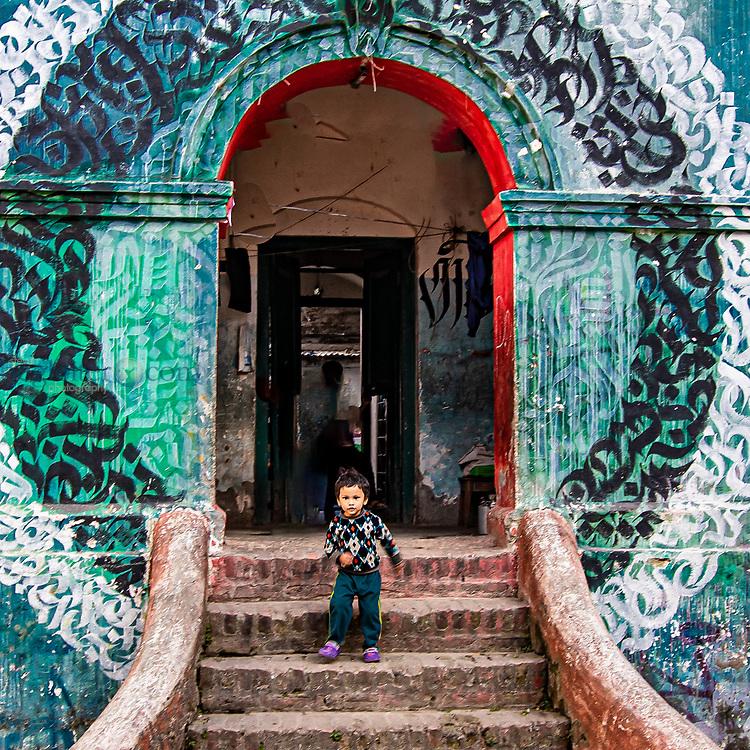 Napalese Orphanage BalMider in Khatmandu, Nepal