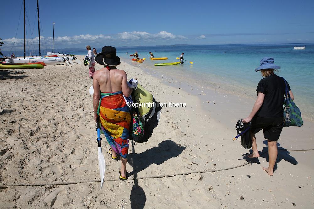Fiji is a popular tourist destination
