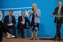 London, UK. 6 December, 2019. Ann Widdecombe speaks at the launch of the Brexit Party Defence and Veterans' Affairs policy statements at an event in Westminster.