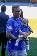 Scott Arfield of Rangers FC during the Ladbrokes Scottish Premiership match between Rangers and Celtic at Ibrox, Glasgow, Scotland on 12 May 2019.