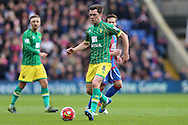 Jonathan Howson of Norwich City in action. Barclays Premier League match, Crystal Palace v Norwich city at Selhurst Park in London on Saturday 9th April 2016. pic by John Patrick Fletcher, Andrew Orchard sports photography.