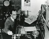 1933 Film editor at MGM Studios