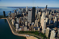 Downtown Chicago featuring John Hancock Building & Lake Shore Drive