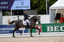Pascual Jesus Leon, ESP, Brio De Tucaballoandaluz<br /> World Championship Young Horses Verden 2021<br /> © Hippo Foto - Dirk Caremans<br /> 26/08/2021