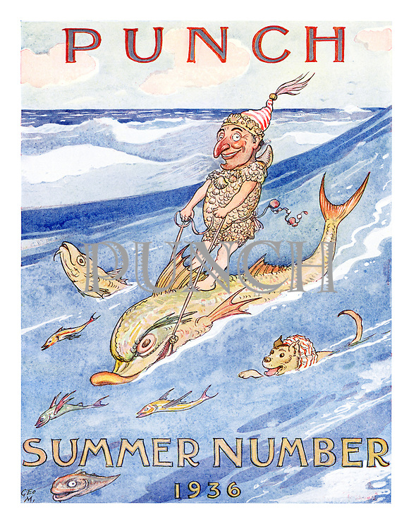 Punch Summer Number (Title page, 25 May 1936)