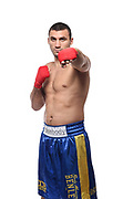 BOXEN: EC Boxing, Studioshooting, Winsen, 28.10.2020<br /> Victor Faust<br /> © Torsten Helmke