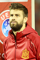 Spain's Gerard Pique during FIFA World Cup 2018 Qualifying Round match. October 6,2017.(ALTERPHOTOS/Acero)