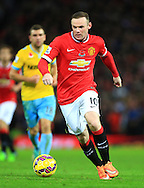 Wayne Rooney of Manchester United in action - Manchester United vs. Crystal Palace - Barclay's Premier League - Old Trafford - Manchester - 08/11/2014 Pic Philip Oldham/Sportimage