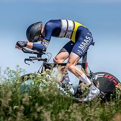 EMMEN (NED) June 16: <br />CYCLING <br />Dutch Nationals Time Trail men U23<br />Sten Verzijl