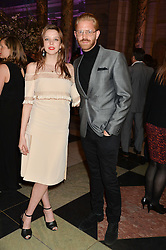 GRETA BELLAMACINA and ALISTAIR GUY at a VIP preview of the V&A's new exhibition 'The Glamour of Italian Fashion' - a comprehensive look at Italian Fashion from 1945-2014 held at The Victoria & Albert Museum, London on 2nd April 2014.