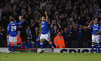 Photo: Ashley Pickering/Sportsbeat Images.<br /> Ipswich Town v Bristol City. Coca Cola Championship. 10/11/2007.<br /> Pablo Counago celebrates his goal and Ipswich's fifth of the afternoon
