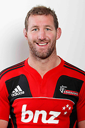 Chris Jack. Crusaders Headshots. Investec Super Rugby, Rugby Park, Christchurch. Thursday 3 Febuary 2011 . Photo: Simon Watts/photosport.co.nz
