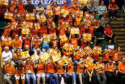 20140705 NED: WLV Nederland - Tsjechie, Rotterdam<br /> Public support Nederland<br /> ©2014-FotoHoogendoorn.nl / Pim Waslander
