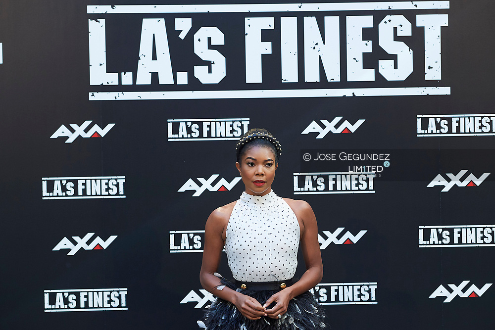Gabrielle Union attends 'L.A.'s Finest' AXN TV Series photocall at Villamagna Hotel on June 10, 2019 in Madrid, Spain