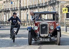 Classic car event, Edinburgh, 9 June 2018