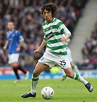 Fotball<br /> Skottland<br /> Foto: Colorsport/Digitalsport<br /> NORWAY ONLY<br /> <br /> CIS Cup Final<br /> Celtic v Rangers<br /> Hampden Park<br /> Glasgow<br /> 15.03.2009<br /> <br /> Shunsuke Nakamura