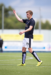 Falkirk's Paul Watson. Falkirk 3 v 1 East Fife, Petrofac Training Cup played 25th July 2015 at The Falkirk Stadium.