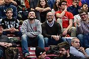 DESCRIZIONE : Beko Final Eight Coppa Italia 2016 Serie A Final8 Semifinale Olimpia EA7 Emporio Armani Milano - Vanoli Cremona<br /> GIOCATORE : Raffaele Ferraro La Giornata Tipo<br /> CATEGORIA : Tifosi Pubblico Spettatori VIP<br /> EVENTO : Beko Final Eight Coppa Italia 2016<br /> GARA : Semifinale Olimpia EA7 Emporio Armani Milano - Vanoli Cremona<br /> DATA : 20/02/2016<br /> SPORT : Pallacanestro <br /> AUTORE : Agenzia Ciamillo-Castoria/L.Canu