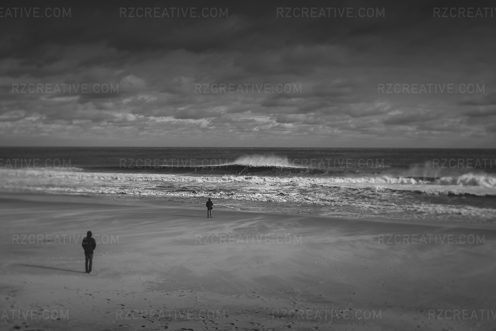 Winter surf in New Jersey on Dec. 27, 2012.