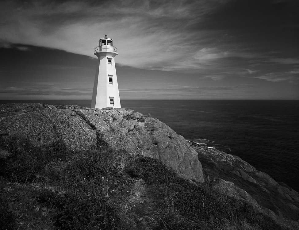 The lighthouse at Cape Spear National Historic Site
