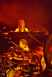 Musical british legend, bas player, singer and producer Greg Lake dies last night at 69, after a long battle against cancer. File imager from the ELP reunion in 1992. 08 Dec 2016 Pictured: Greg Lake and ELP. Photo credit: Bruno Marzi / MEGA TheMegaAgency.com +1 888 505 6342