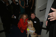 PRINCESS MICHAEL OF KENT, DAVE KENT AND QUINCE, Dinner in aid of 'Action Trust For the Blind organised by Matthew Carr. 20th Century Theatre. Westbourne Gro. London. 26 September 2007. -DO NOT ARCHIVE-© Copyright Photograph by Dafydd Jones. 248 Clapham Rd. London SW9 0PZ. Tel 0207 820 0771. www.dafjones.com.