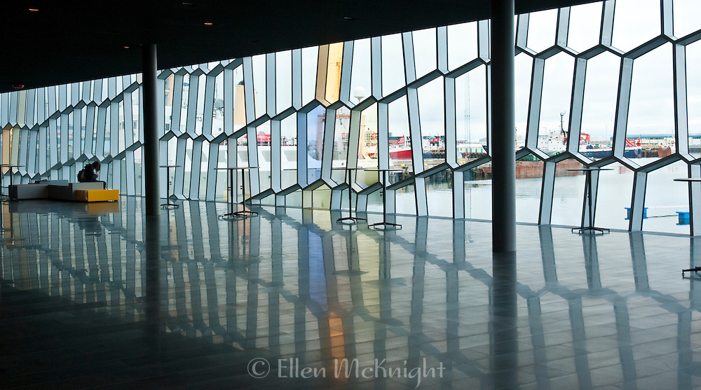 Harpa Concert Hall and Conference Center in Reykjavik, Iceland