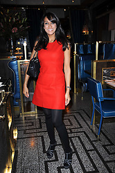 JACKIE ST.CLAIR at a party to celebrate the 1st anniversary of Gift-Library.com held at Bob Bob Ricard, 1 Upper James Street, London on 19th November 2009.