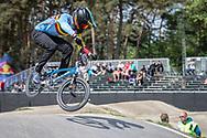 #156 (VERHOEVEN Mathijs) BEL during practice at Round 5 of the 2018 UCI BMX Superscross World Cup in Zolder, Belgium