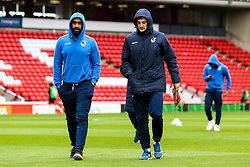 Stefan Payne and Tom Lockyer of Bristol Rovers arrive at Barnsley - Mandatory by-line: Robbie Stephenson/JMP - 27/10/2018 - FOOTBALL - Oakwell Stadium - Barnsley, England - Barnsley v Bristol Rovers - Sky Bet League One