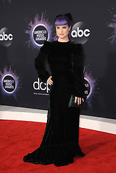 Kelly Osbourne at the 2019 American Music Awards held at the Microsoft Theater in Los Angeles, USA on November 24, 2019.