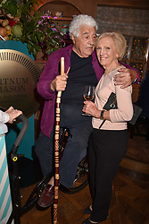 Antonio Carluccio and Mary Berry at the 2017 Fortnum & Mason Food & Drink Awards held at Fortnum & Mason, Piccadilly London England. 11 May 2017.<br /> Photo by Dominic O'Neill/SilverHub 0203 174 1069 sales@silverhubmedia.com