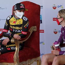 18-04-2021: Wielrennen: Amstel Gold Race women: Berg en Terblijt: Marianne Vos: Demi Vollering