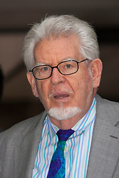 London, June 20th 2014. Rolf Harris leaves Southwark Crown Court after a half day of waiting for the jury to return their verdicts on the 12 charges he faces of indecent assault against four girls aged 7 to 19.