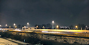 Nederland, Rotterdam, 8-12-2012Snelweg A20 in de nacht.Foto: Flip Franssen/Hollandse Hoogte